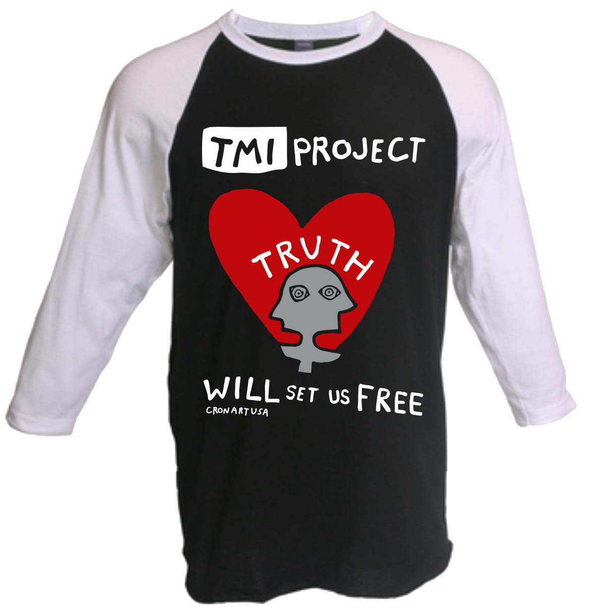 Tmi Project Online Shop Truth Will Set Us Free 34 Sleeve T Shirt